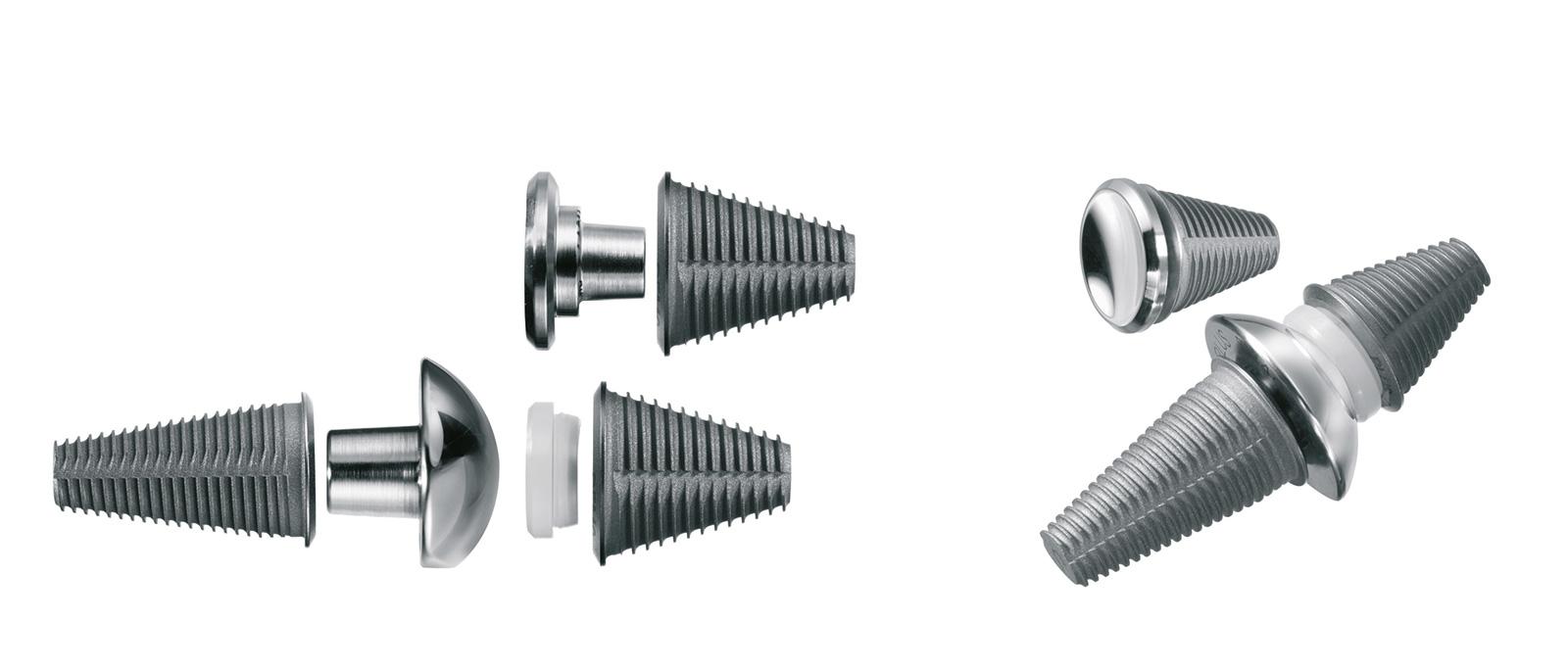 Abb. 6-14: Toefit Prothese: zementfreie Prothese für das Großzehengrundgelenk (Endoplus GmbH)